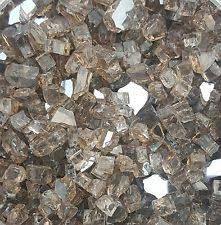 Fire Pit Crystals - 10 lbs copper reflective 1 4 fireglass fireplace fire pit glass
