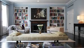 bookshelves in living room fill up your interior with not only fireplace but multipurpose