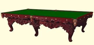 Antique Brunswick Pool Tables by Chicago Billiard Museum 1860 1870 Timeline