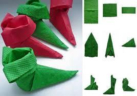 weihnachtsservietten falten servietten falten zu weihnachten deko ideen und anleitung