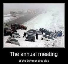 Driving In Snow Meme - winter road trip car prep so you don t end up at the annual summer