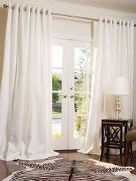 Window Treatment Ideas For Living Room by Features Casual Woven Fabric Fits Patio French Doors Sold