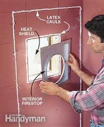 How To Install Center Jump How To Install A Gas Fireplace Family Handyman