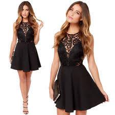 polyester above knee mini dresses ebay