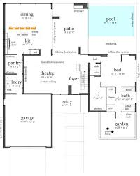 house plans with swimming pools outstanding modern house plans with swimming pool gallery best