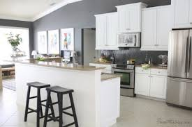 sunny what color should i paint my kitchen with white cabinets