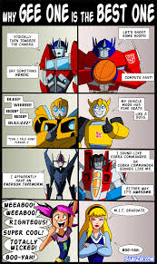 Transformers Meme - why gee one is the best one by shibamura prime transformers