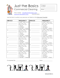 Basic Household Items Checklist Office Cleaning List Template Budget Template Free