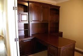 Partner Desk Home Office Home Office Built Ins Built In Partner Desk In Custom Home Office