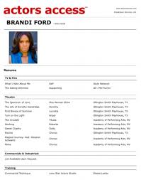 ford commercial actor resume example 29 actor sample resume template kids acting resume