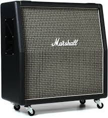 marshall 2x12 vertical slant guitar cabinet marshall 1960ax 100 watt 4x12 angled extension cabinet with