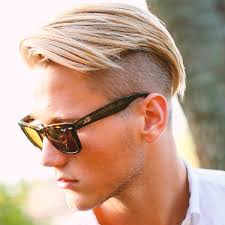 hair under cut with tapered side undercut hairstyle for men