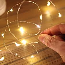 2 5 10m Button Battery Operated Led Copper Wire String Fairy Lights