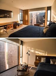schlafzimmer mit eingebautem schreibtisch haus renovierung mit modernem innenarchitektur ehrfürchtiges