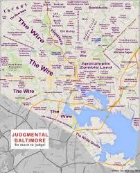 san francisco judgmental map judgmental map of baltimore is judging you baltimore fishbowl