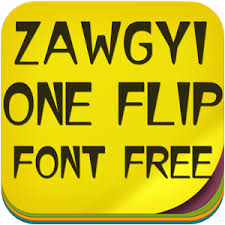 zawgyi one apk zawgyi one flip font free android apps on play