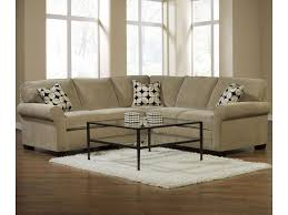 Broyhill Living Room Furniture by Broyhill Furniture Ethan Two Piece Sectional With Laf Full Sleeper