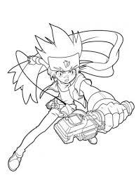 beyblade coloring pages gingka cartoon coloring pages of