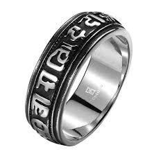 men rock rings images Vintage rock 316l stainless steel carved band ring men jewelry jpg