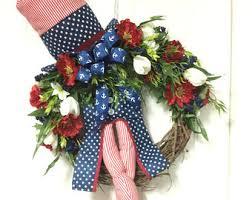Patriotic Home Decorations Uncle Sam Hat Legs Etsy