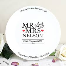 wedding plate wedding plate mr mrs design ceramiccards