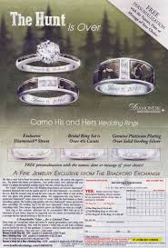 Camo Wedding Ring Sets by Jared Unzipped The Hunt Is Over I Found Camo Wedding Rings