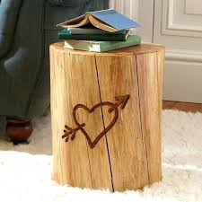 tree trunk end table tree trunk end table great tree stump nightstand inverted tree trunk