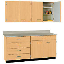 Office Wall Cabinets With Doors Office Wall Cabinets Modular Cabinetry For Breakrooms