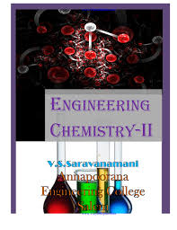 cy2161 engineering chemistry ii lecture notes ebooks 2012