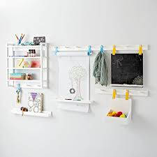 White Wall Shelves For Kids Room Beaumont White Shelving Collection The Land Of Nod
