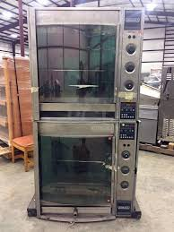Hobart Double Stack HR7 Rotisserie Oven Stainless Steel 208 1 3Ph