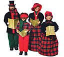 dickens carolers in sleigh by valerie qvc 2014 carolers