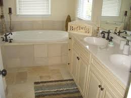 traditional master bathroom with high ceiling drop in bathtub in