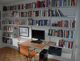 Desk And Bookshelves by Bookshelves With Desk
