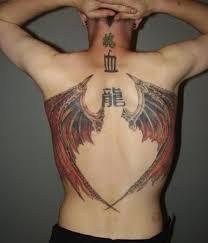 devil wings tattoos ideas for mens back tattoos blog tattoos blog