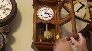 Barwick Grandfather Clock Small Time Mfg Co Wall Clock Youtube