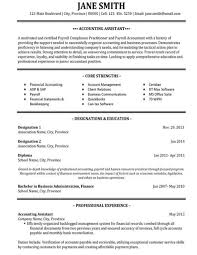 accounting assistant resume sample sample resume accounting