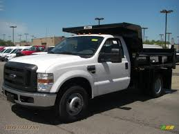 Ford F350 Truck - 2010 ford f350 super duty xl regular cab chassis dump truck in