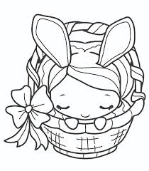 easter colouring bunny coloring page