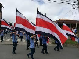 Costarican Flag Study Abroad Costa Rica Blog Monteverde Costa Rica Ciee