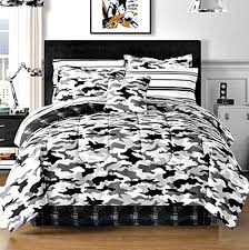 Camo Duvet Covers Black And White Bedding Teen Boys Camo Bedding And Bedding Sets
