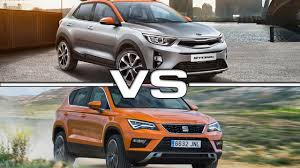 2018 kia stonic vs 2017 seat ateca youtube