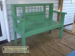 bench slowly faded treasures
