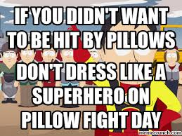 Pillow Fight Meme - pillow fight meme