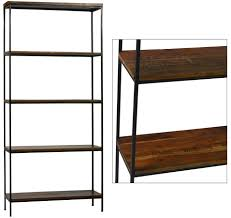 the seven drawers u2022 reclaimed wood bookcase