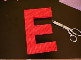 best 25 fabric covered letters ideas on pinterest diy decoupage