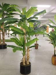 mini banana tree sja1298 home garden small artificial 22 leaves banana plant and
