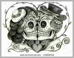 12 best matching skulls images on pinterest death sugar skull