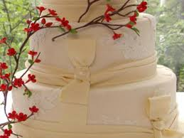 cinnamon vanilla wedding cake with mexican chocolate