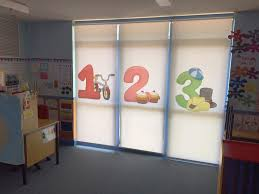 printed roller blind solutions for work home or schools